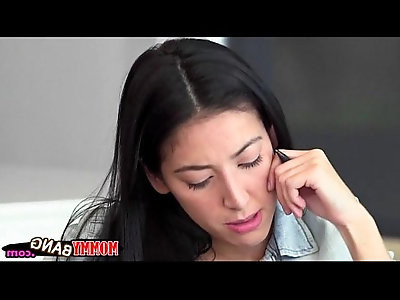 Stepmom Bianca Breeze threesome with lovely couple