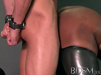 BDSM XXX Caged subs are humiliated before being taught their worth