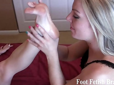 Have you ever sucked another womans toes before
