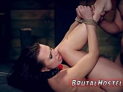 Brutal violent anal fuck Best pals Aidra Fox and Kharlie Stone are