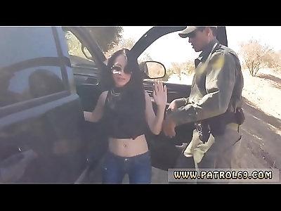 Lesbian fucks slut and cop fucks in public Russian Amateur Takes