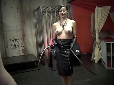 THE ART OF WHIPPING pt Starring Mistress Maxine