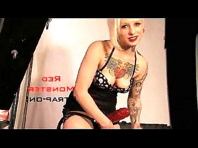 RaptureVision Red Monster Strap on Mistress Jessi Lee