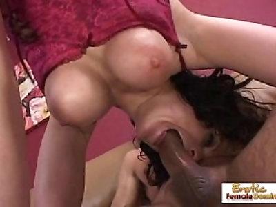 Hung old stud fucks sexy ass milf very hard