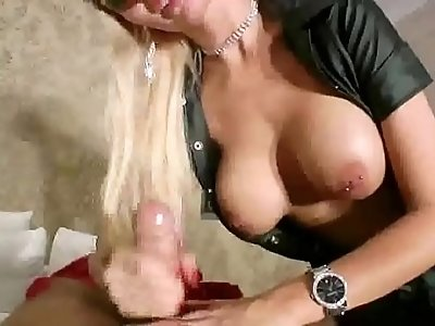 big boobed german nurse in latex hj