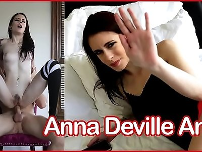 Tattooed Cutie has Morning Anal Sex Anna Deville
