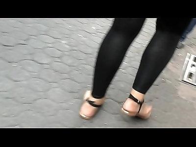 seethrough leggings calzones latina