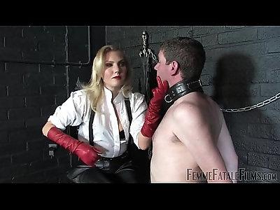Off The Wall Mistress Akella FemmeFataleFilms Face Slapping