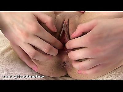 Teenage girls first time masturbating on camera