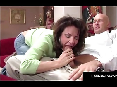 Naughty cheating Wife Deauxma Gets Free Advice For Sex From Tax Man!