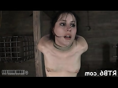 Cutie cant live without brutal pleasuring
